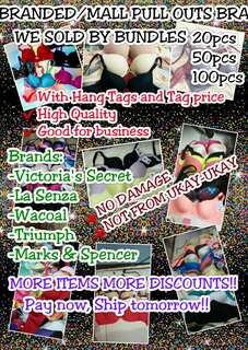 MALL PULL OUTS/BRANDED BRA WHOLESALE!