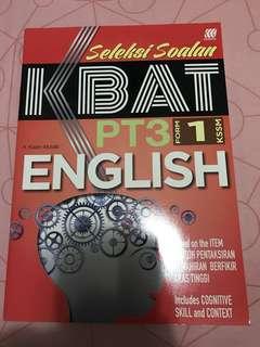 Buku latihan english form 1
