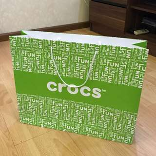 Paperbag crocs