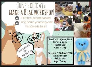 Make a bear workshop