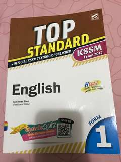 Buku latihan english form 1