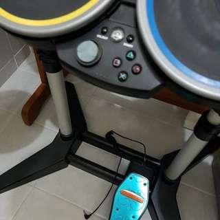Madcatz PS3 and PS4 Rockband Drum Set