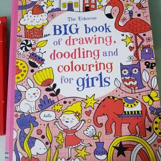 The Usborne Big book of drawing