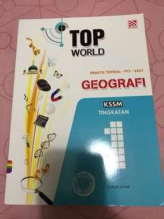 Buku latihan geografi tingkatan 1