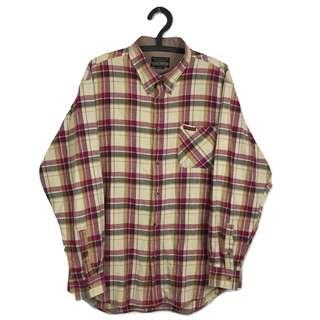 第二件8折🎉格紋襯衫 復古 古著 二手