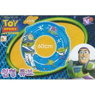Disney Pixar Toy Story Buzz Lightyear Inflatable Swimming Ring Float