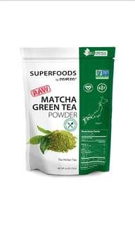 MRM, 無加工抹茶粉,170 g,無糖低卡