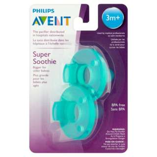 Philips Avent Super Soothie Pacifier