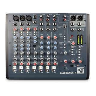 Allen Heath XB-10 Compact Broadcast Mixer