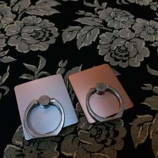 手機指環(銀色&粉紅色)$5/個