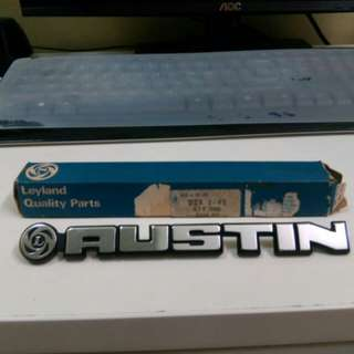 Austin Mini Boot Badge
