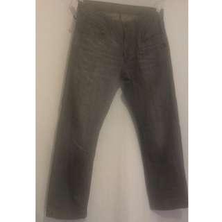 Rare Faded Levi 514 Slim Straight denim, waist 30, length 30.
