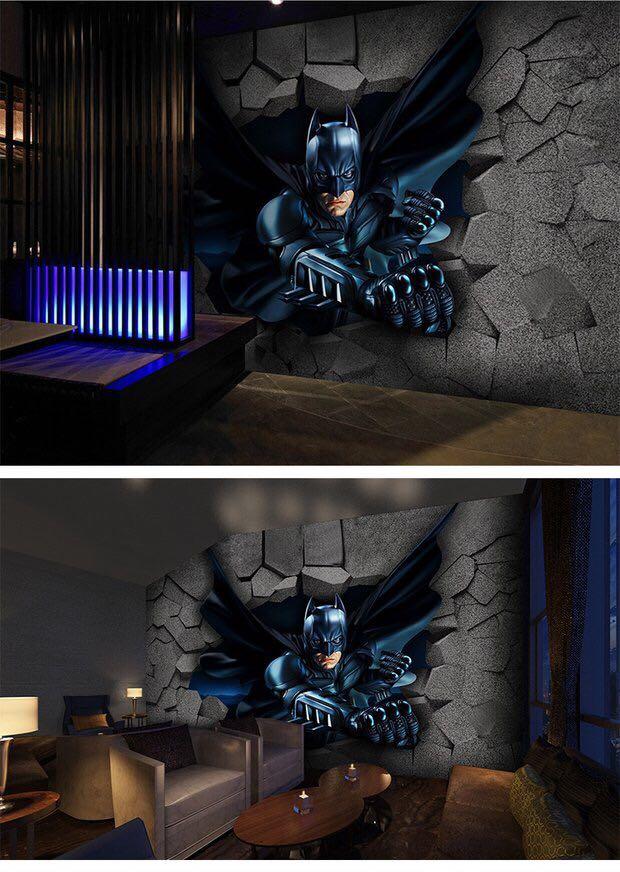 ✨ Customised 3D Batman Wallpaper
