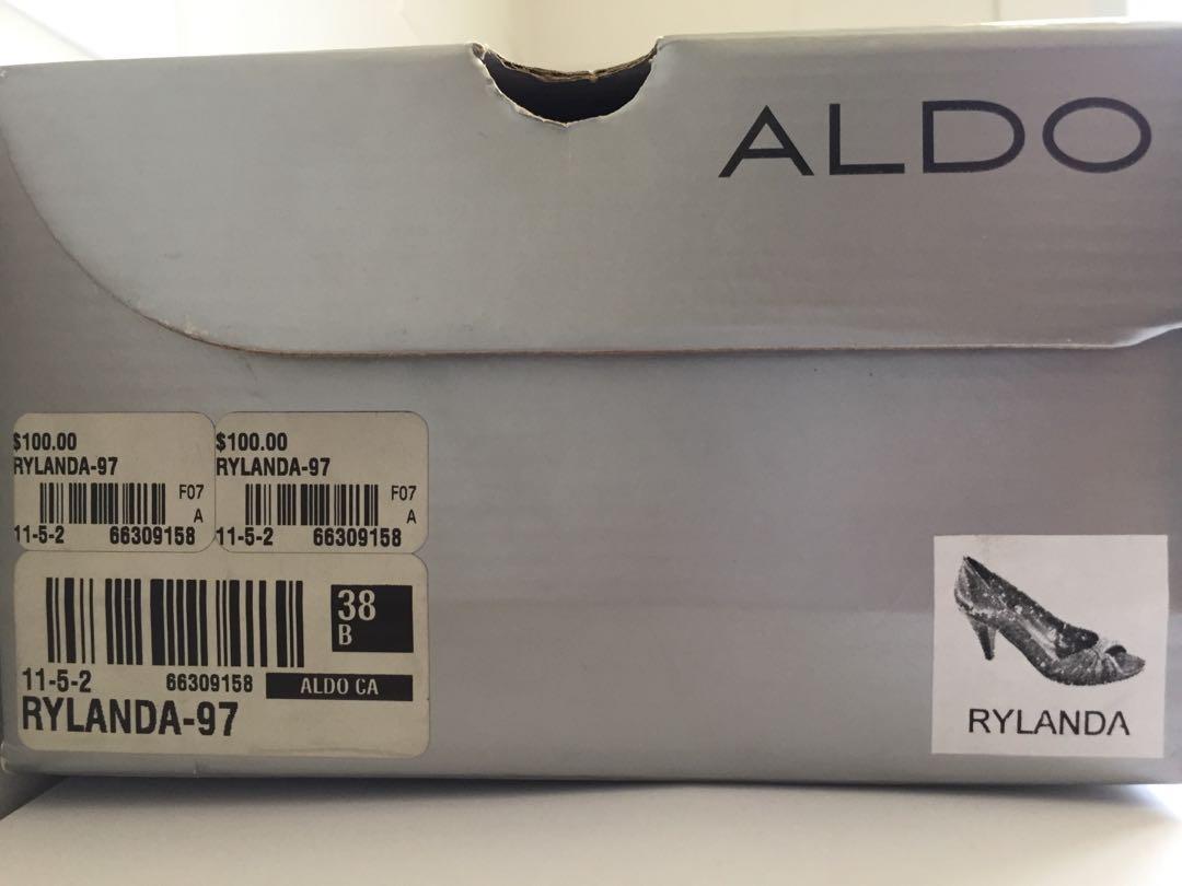 Aldo Rylanda Peep-Toe Heels / Women's Sz 8