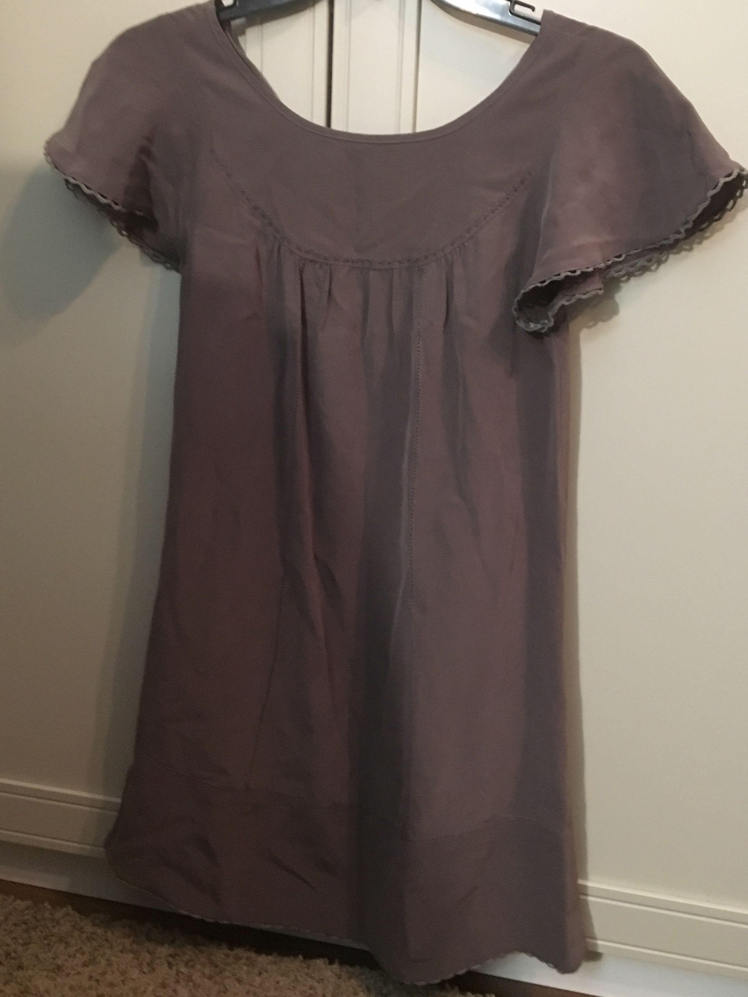 Aritzia Wilfred 100% Silk Dress - XS