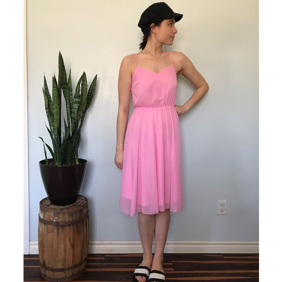 ASOS bubblegum pink dress- Size 4
