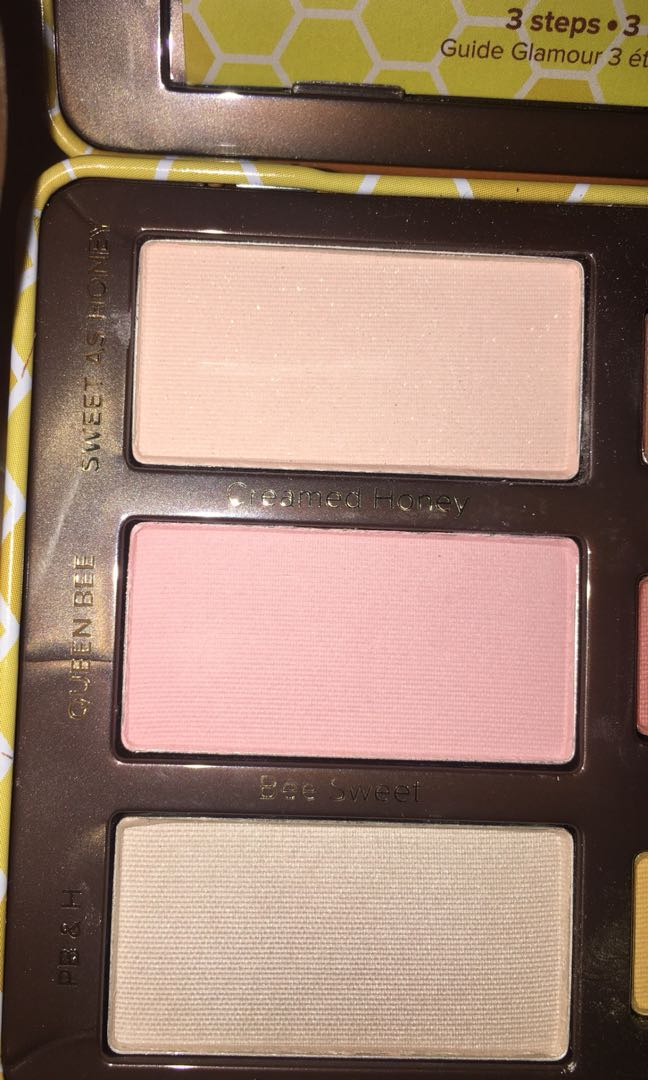 AUTHENTIC! TooFaced Pb&Honey eyeshadow palette!