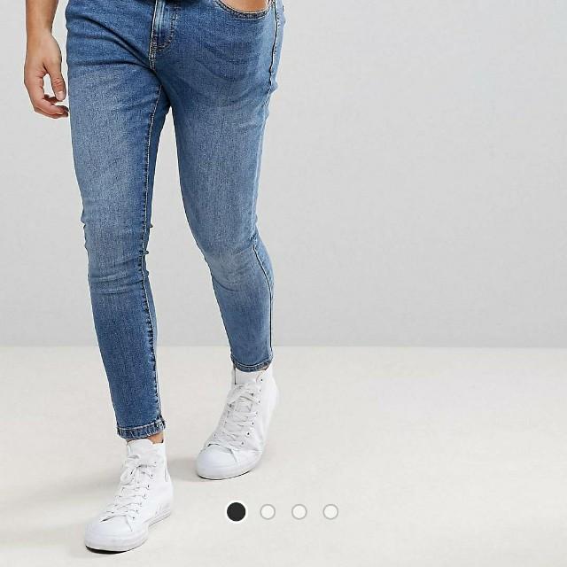 6a04d6b646ad2 BNWT Bershka Super Skinny Jeans (W30), Men's Fashion, Clothes on ...