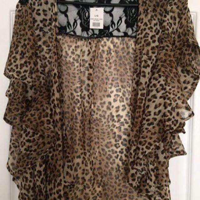 Cheetah Cover Top