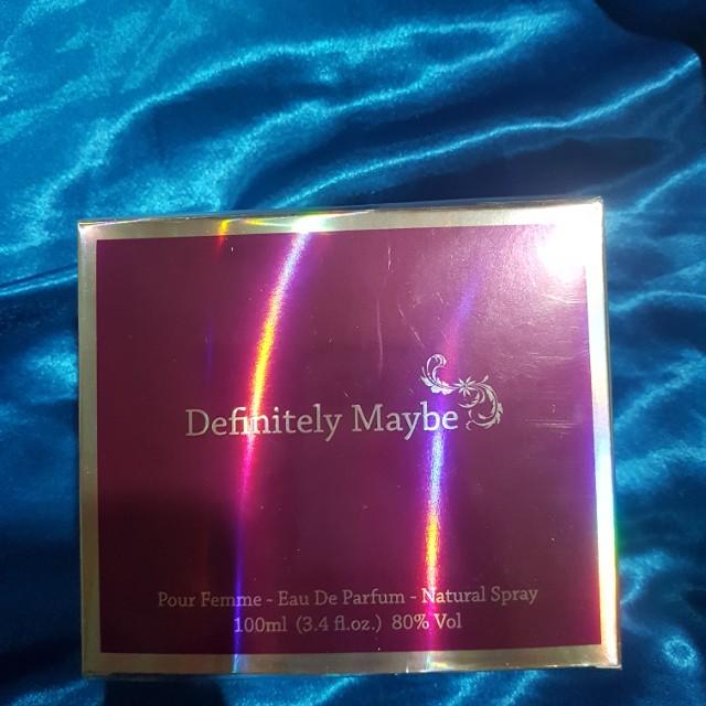 Definetley maybe perfume