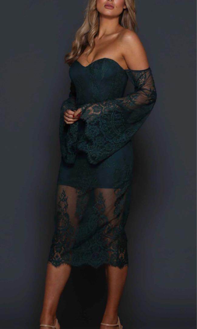 elle zeitoune dress size 8 worn once