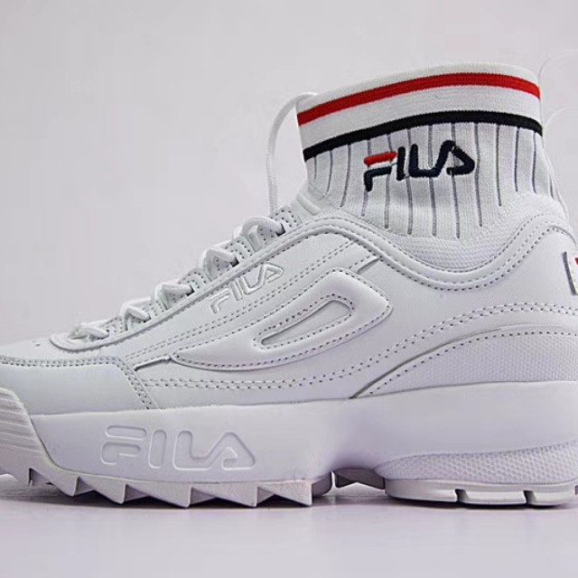 5337367238 FILA Disruptor II EVO Sockfit, Men's Fashion, Footwear, Sneakers on ...