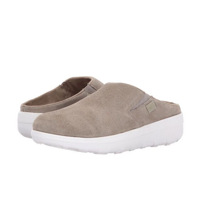 543be0d7fc0bfc FitFlop Loaff Suede Clogs