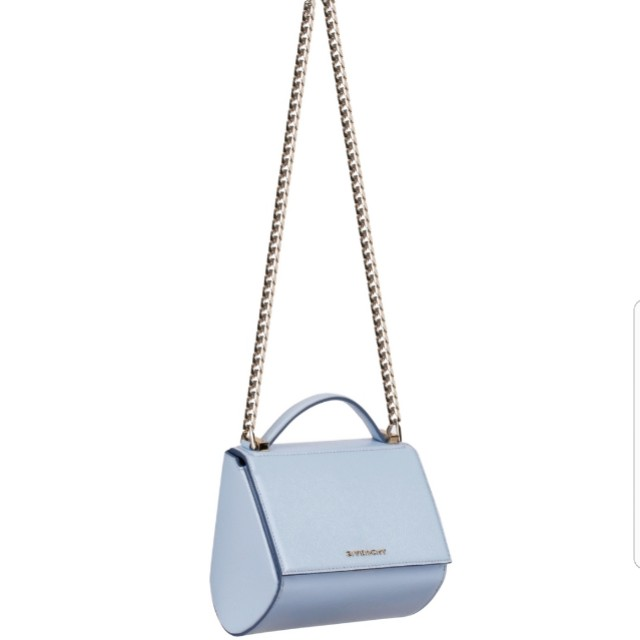Givenchy Pandora Box with chain in baby blue 0c5b55520cb8e