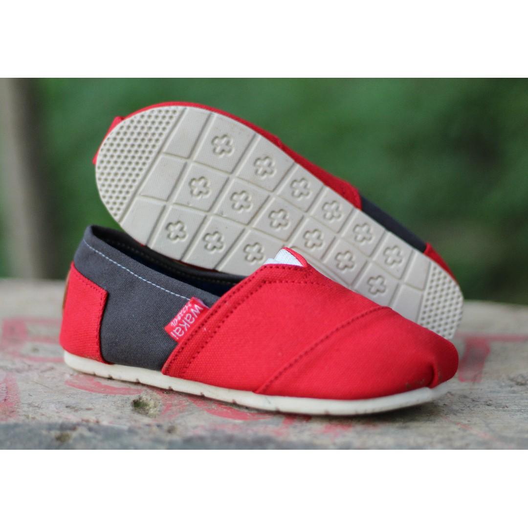 Grosir Sepatu Wakai Anak MA Grade Ori Flatshoes Slip On Running Jogging Santai Bayi Murah Preloved Fesyen Wanita Di Carousell