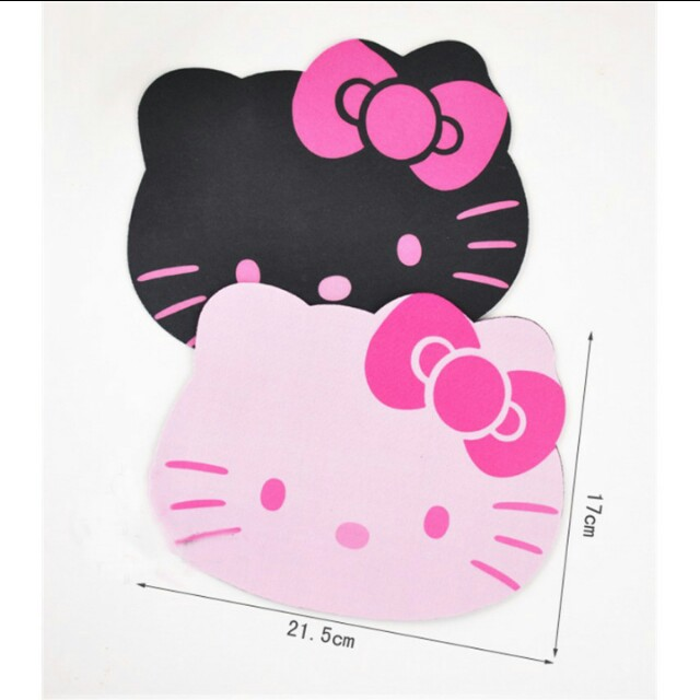 c8c2d33fc Instocks) Hello Kitty cute laptop mouse pad., Bulletin Board ...