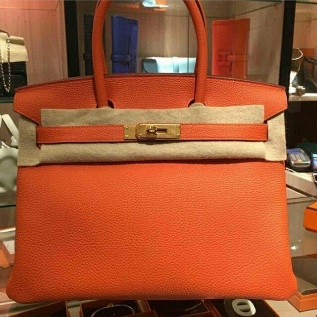 99b02fb79c30 clearance hermes birkin 30 in poppy orange luxury bags wallets on carousell  b40d0 bc748