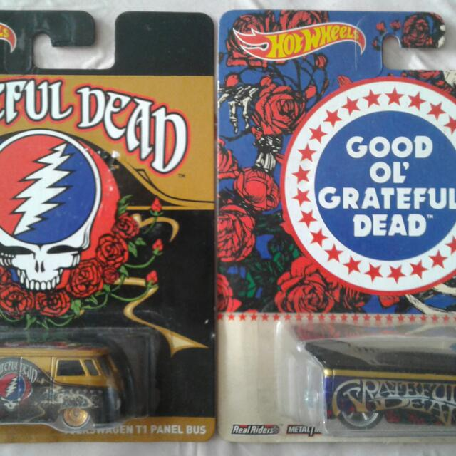Hot Wheels Pop Culture Grateful Dead VW Truck & T1 Panel Bus