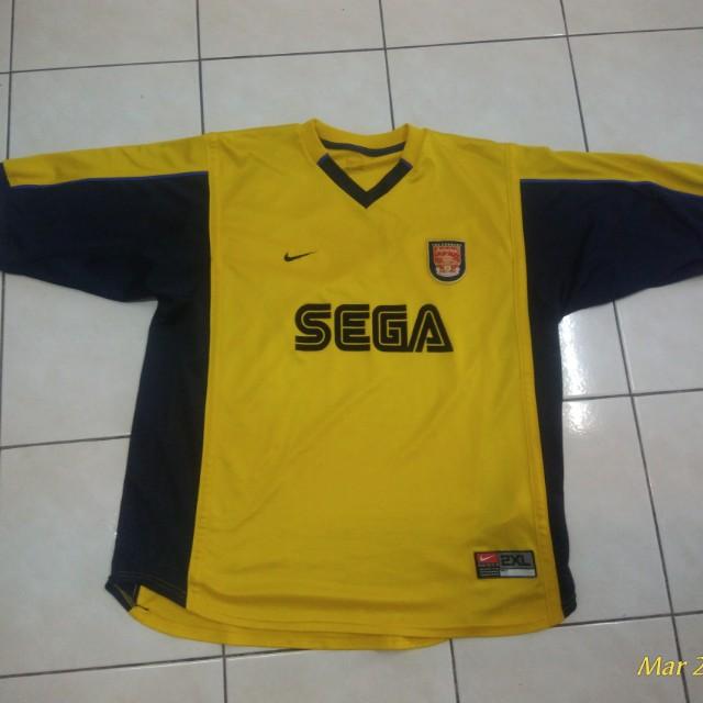 quality design 610d5 c8af4 Jersey Arsenal SEGA