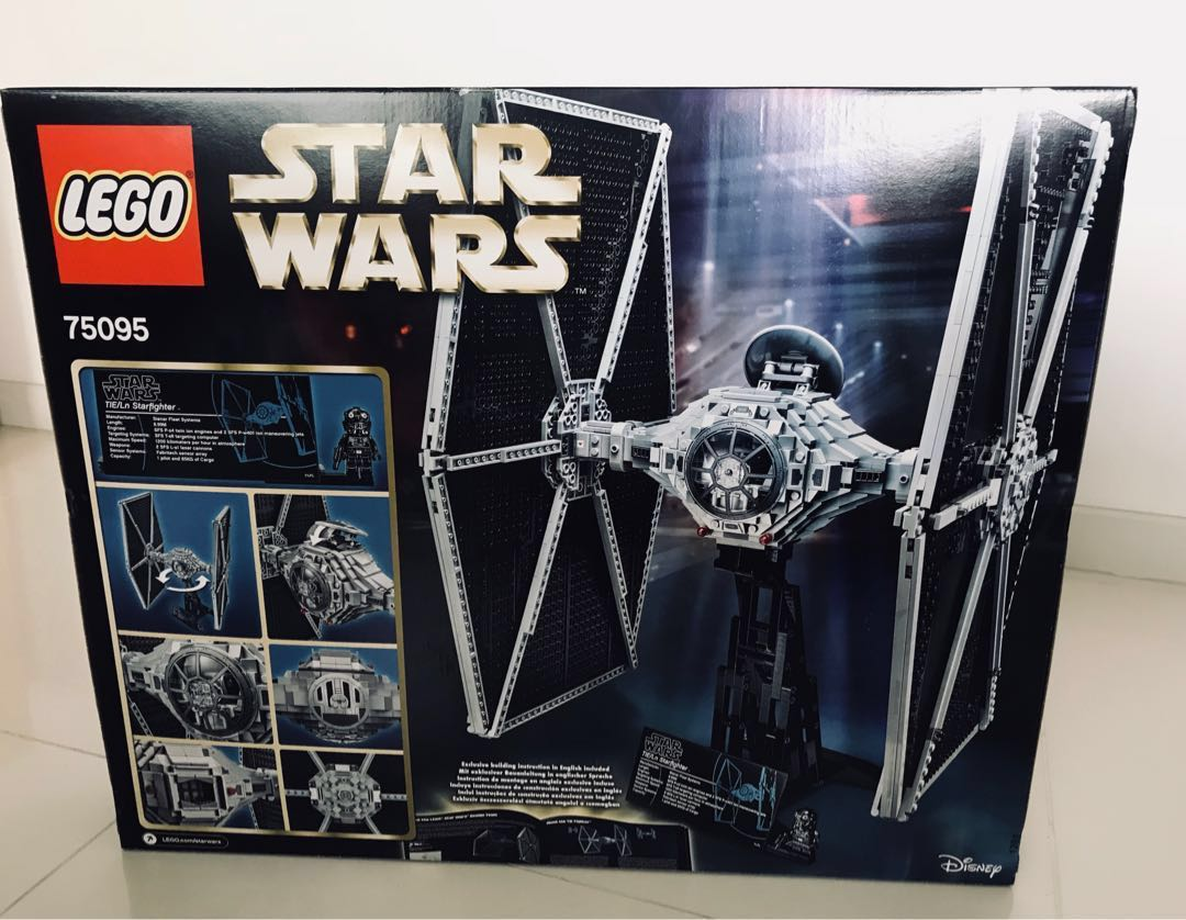 Lego Star Wars Tie Fighter UCS 75095, Toys & Games, Bricks & Figurines on Carousell