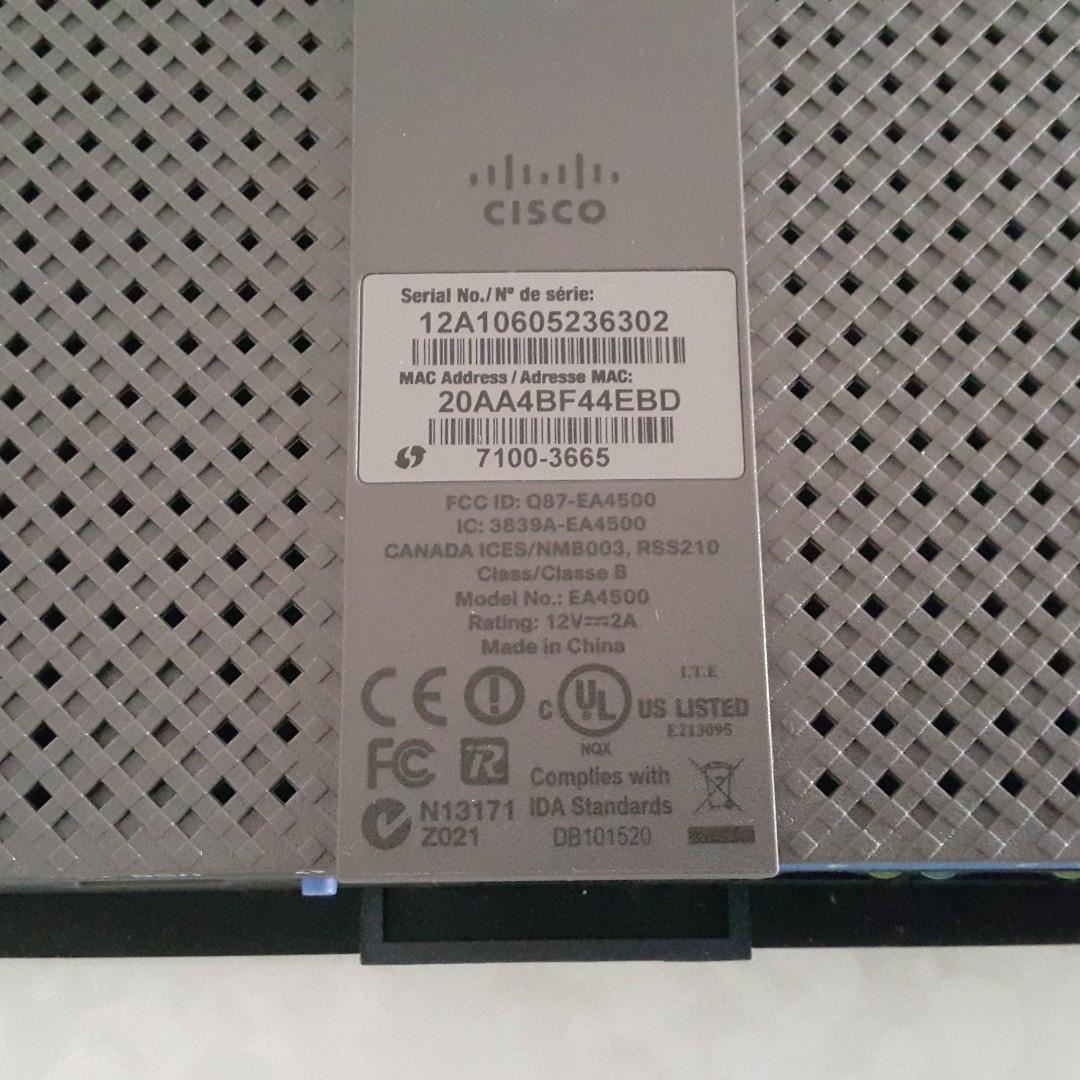 Linksys EA4500 v1 Dual-Band N900 Router w/ Gigabit & USB (可刷OpenWRT)