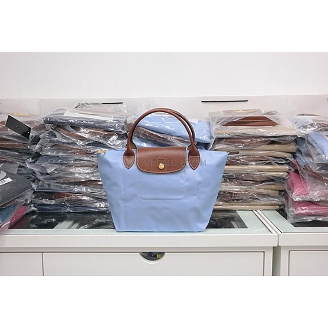 Longchamp Le Pliage Small Short Handle Ssh Fuchsia Daftar Harga Miaou Slh Pink Photo