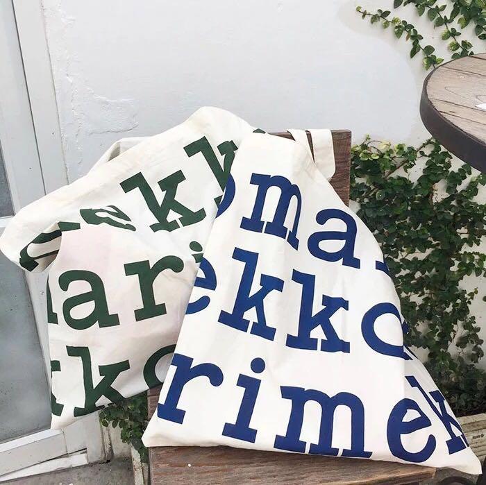 Marimekko字母購物袋