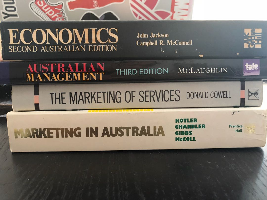 Marketing textbooks