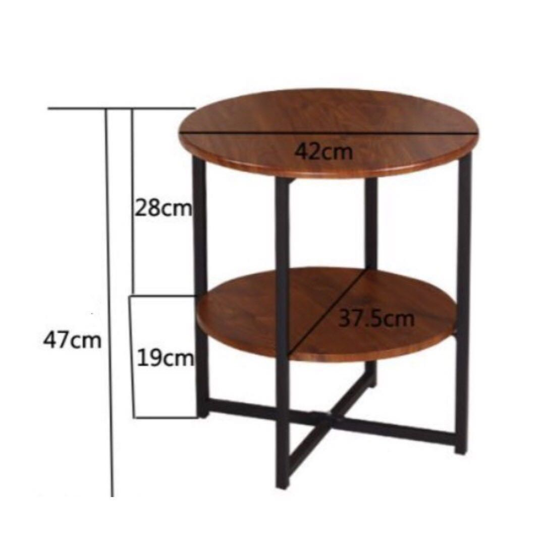 table tables beistelltisch frei side by white categories x cm round emu furniture connox the weiss h