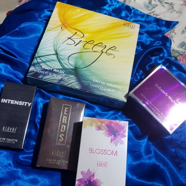 Parfum klover perfume assorted