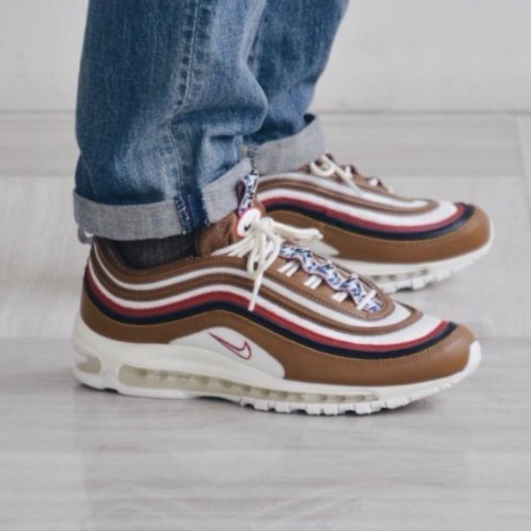 factory price 99889 ed792 (PO) Nike Mens Air Max 97 TT Premium Taped Brown, Men s Fashion, Footwear,  Sneakers on Carousell