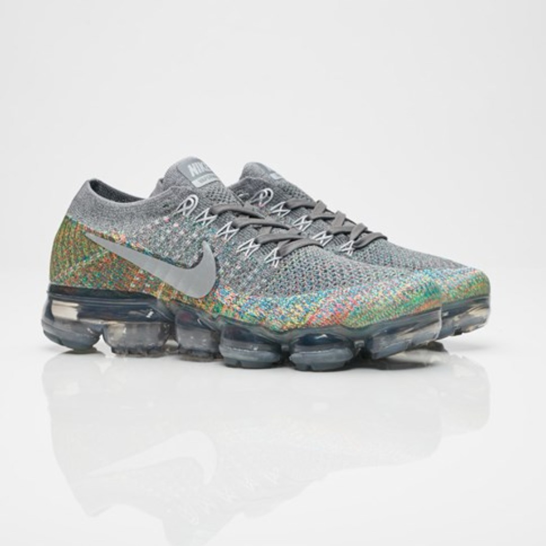 e8dfa268e13f PO) Nike Womens Flyknit Air vapormax Grey Multicolor