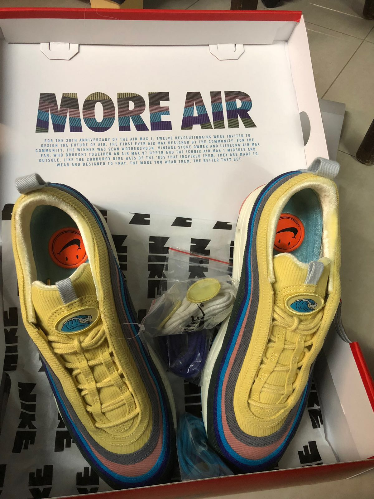 huge selection of 10741 1793b Sean Wotherspoon Nike Air Max 97/1 on Carousell