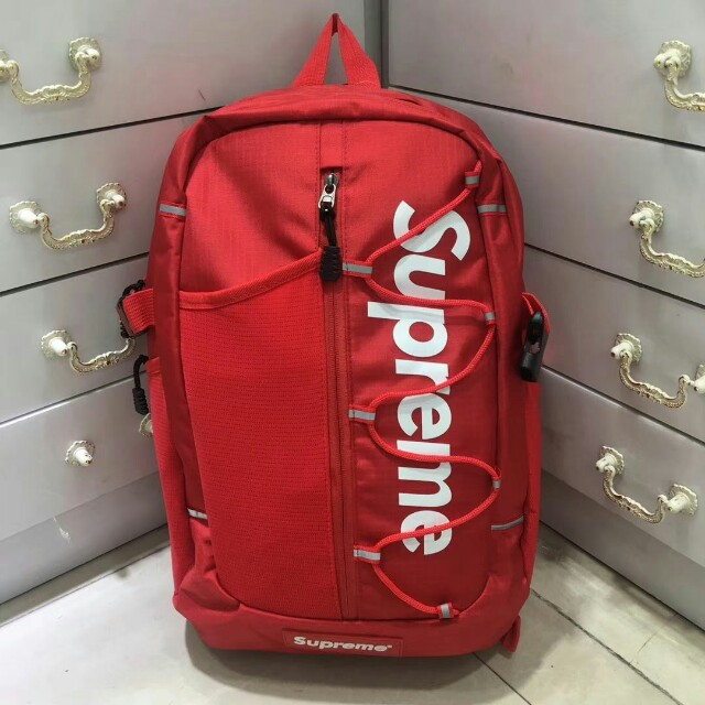4c62142338e Supreme SS17 cordura backpack casual bag red, Men's Fashion, Bags &  Wallets, Wallets on Carousell