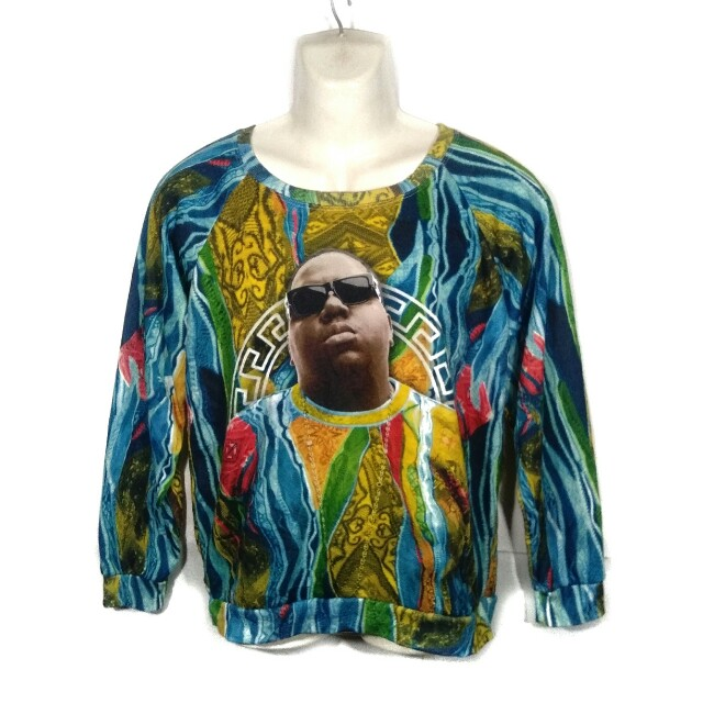 cb2797f36d3d The Notorious Big T'shirts / Full Print Multicolors, Men's Fashion,  Clothes, Tops on Carousell