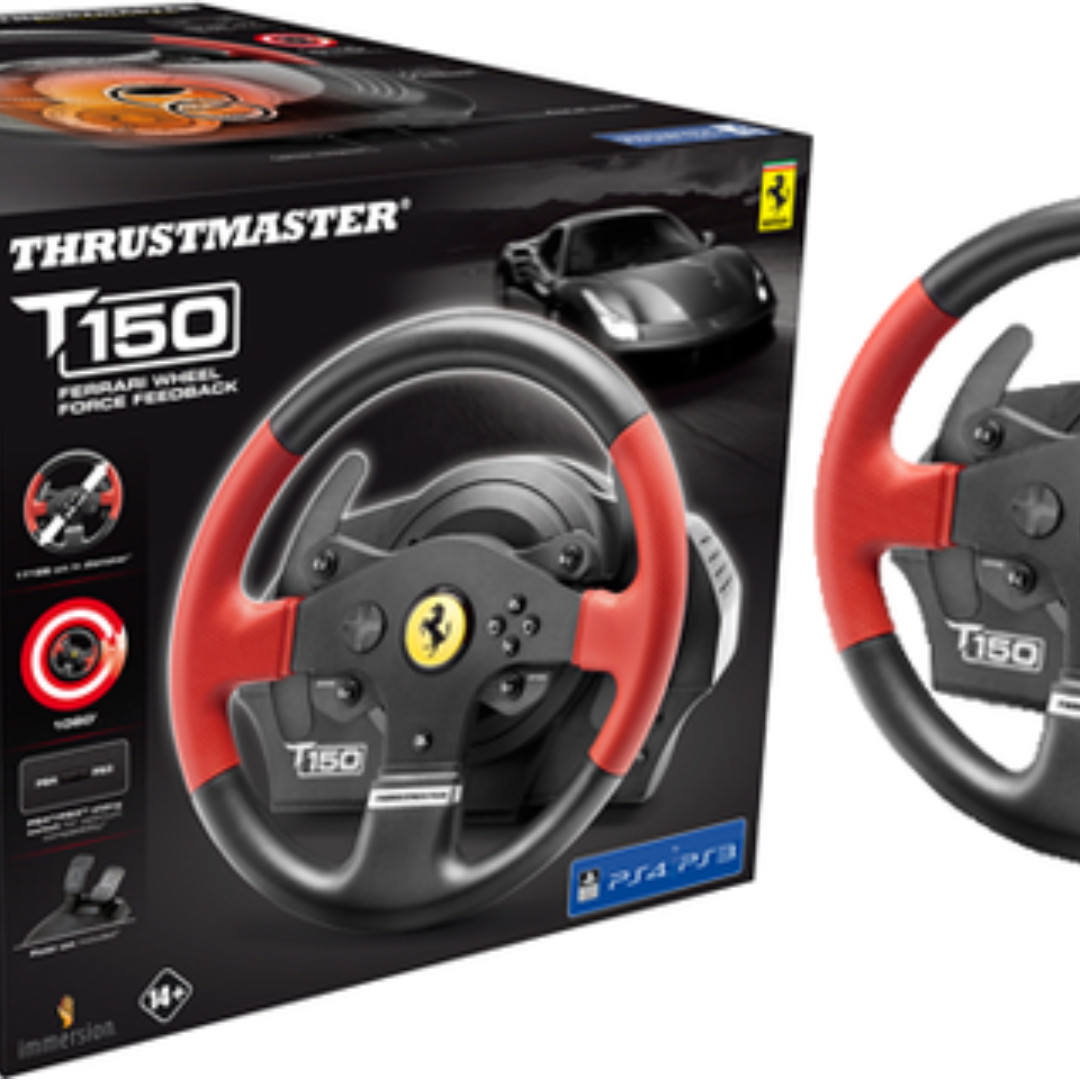 Racing Wheel Thrustmaster T150 Ferrari Edition , Electronics