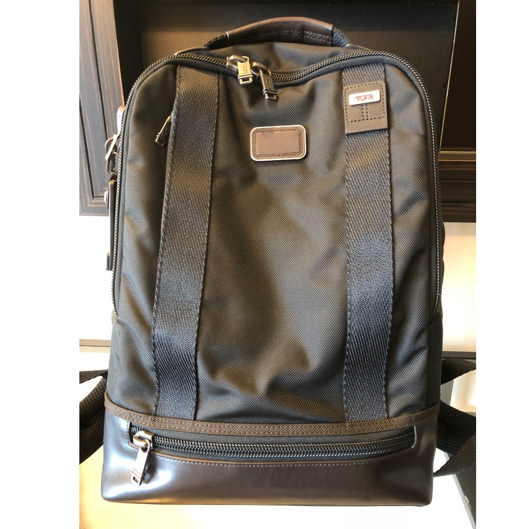 Tumi Alpha Bravo Dover Backpack Hickory For Men S Fashion Bags Wallets On Carou