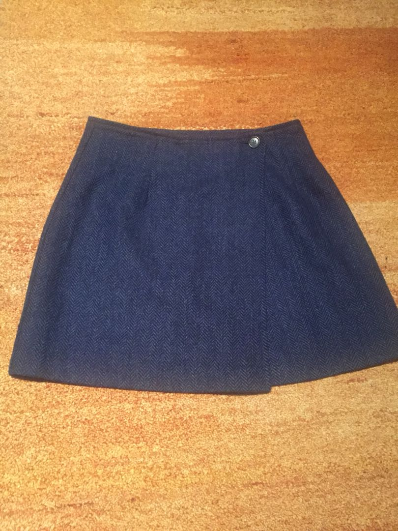 Vintage United Colors of Benetton wool skirt