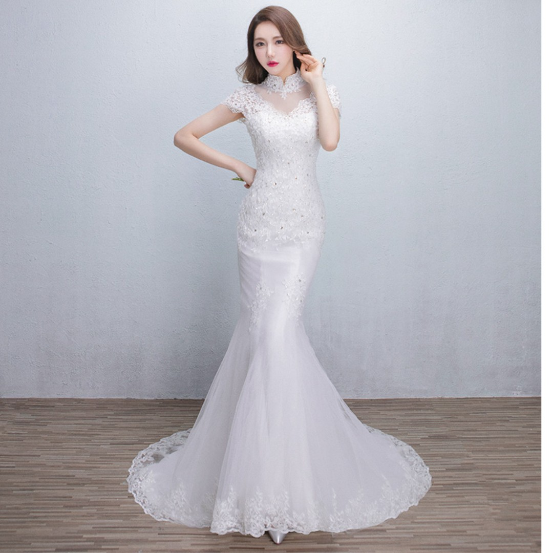 Wedding Collection - Korean Style Off Shoulder Design Mermaid ...