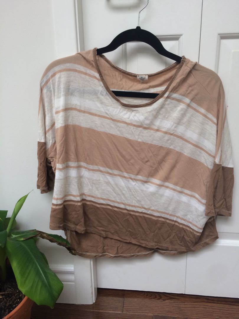 Wilfred crop shirt size M